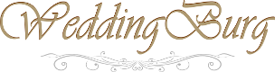 Бутониера за гости на сватба - Слънчоглед със златна мрежа